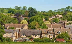 Image of Chipping Campden a small market town within the Cotswold district of Gloucestershire, England.